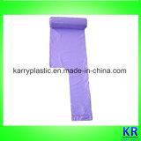 Os melhores sacos de plástico dos sacos de portador da veste do HDPE do preço de fábrica com punho
