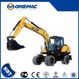 Sany popular Sy155W excavador de la rueda de 13.5 toneladas para la venta