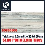 Супер тонкая плитка Bos36006 ванной комнаты фарфора толщины 5.5mm тонкая
