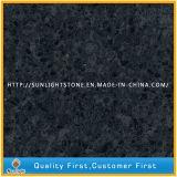 Preto/Cinza Superfície sólida Artificial Pedra de quartzo para bancadas de trabalho