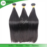 Естественный черный бразильский уток человеческих волос девственницы