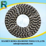 화강암 대리석 돌을 파내거나 구획 절단을%s Romatools 10.5mm 다이아몬드 철사