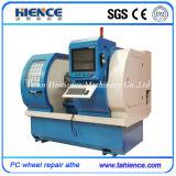 Máquina do CNC para a máquina Awr2840PC da borda do reparo da roda de carro da estaca