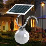 거리를 위한 에너지 절약 LED 센서 태양 옥외 램프