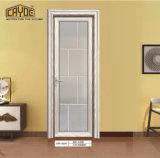 Grano di legno della stanza da bagno del portello del portello di vetro di alluminio di prezzi