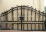 Cancello con comando a motore del cancello del ferro saldato e di Componenets del cancello