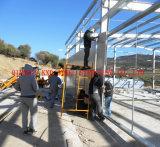 Magazzino chiaro prefabbricato/gruppo di lavoro dell'acciaio per costruzioni edili