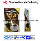 Встаньте из алюминиевой фольги для приготовления кофе пакет с застежкой на молнию и клапан