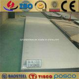 Tisco 201 304 316 feuille d'acier inoxydable de fini de miroir de l'enduit 8K de PVC