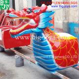 Novo design! ! A montanha-russa de dragão para crianças e adultos