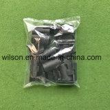 Vendas diretas automáticas de fábrica de máquina do empacotamento das peças plásticas pretas de Formosa