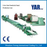Linha de produção de aço do painel de sanduíche da cor da alta qualidade de China