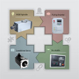 Fabrik-Preis-Holzbearbeitung Fräsmaschine 1325 CNC-Router/CNC