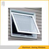 Modernes Aluminiumrahmen-Markisen-Fenster mit Doppeltem