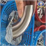 Encaixes de tubulação do aço inoxidável cotovelo de 90 graus