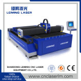 Machine de découpage de laser de fibre de Lm3015m 750W pour le tube en métal