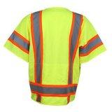Uniforme riflettente di sicurezza per gli operai