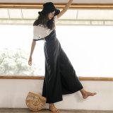 Одежда женщин способа платья 2017 MIDI плеча конструктора одного