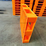 Carga estática 5000kg /Carga Dinâmica 1500kg/ única face 4 Caminho de HDPE/PP paletes de plástico