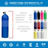 Scuba Diving Equipment Aluminum and Seamless Steel Oxygen Cylinder for Diving