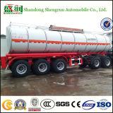 Aanhangwagen van de Tanker van de Brandstof van de Tankwagen van de Opslag van de Benzine van de Ruwe olie de Semi