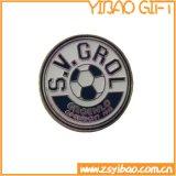 기념품 (YB-p-006)를 위한 최신 판매 금속 조직 단추 기장 Pin