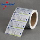 prix d'usine Stickers Personnalisé imprimé les nécessités quotidiennes de l'emballage d'étiquette, PVC