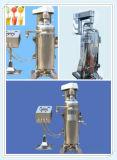 Высокоскоростная трубчатая центробежка сепаратора для кокосового масла стандарта Vco
