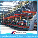 Chaîne de production de sable de résine pour la ligne de bâti de fonderie