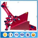 布の印刷のための手動高圧熱の出版物機械