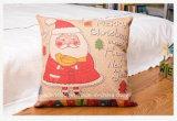 Relleno almohada de peluche de Navidad para la decoración del regalo