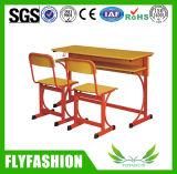 Mobiliário escolar dupla mesa e cadeiras (SF-20D)
