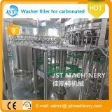 炭酸水びん詰めにする生産ライン