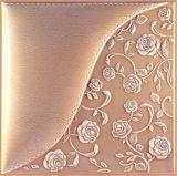 3D de cuero de PU el panel de pared 1007-21 para la decoración del hogar
