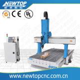 De China 3D CNC de la carpintería Router / 3 Eje 4 Eje 5 Eje giratorio CNC Madera Router