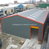 Estructura de acero de la luz de prefabricados casa/ Taller de construcción prefabricados