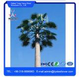 El acero Monopole camuflaje palmera de la torre de antena de telecomunicaciones