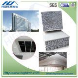 Casa pré-fabricada do painel rápido moderno do cimento do EPS da construção