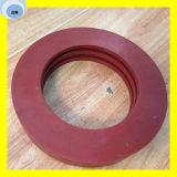 Красной силиконовой прокладкой масляного уплотнения уплотнительного кольца на машину