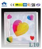 Высокое качество Jinghua художественных L-7 Окраска стекла блок/кирпича