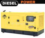 Cummins-Diesel/der geöffnete/leise Gasmotor stehen Stromerzeugung bereit