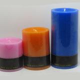 Vela Tearless del pilar con diversos colores