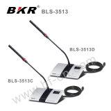 Le BLS-3513C/D Desktop Microphone main dans la main d'enregistrement