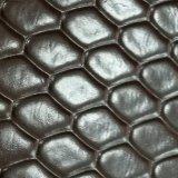 Cuoio del PVC dei sacchetti dei bagagli del reticolo del diamante