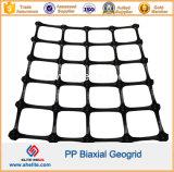 Polipropilene di plastica pp Geogrids biassiale 20kn 30kn 40kn