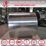 JIS G3302 ASTM A653 a galvanisé la bobine en acier