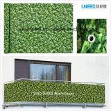100%UV resistenza, rete fissa antivento del coperchio del balcone del PVC di Buchsbaum 0.75m*6m