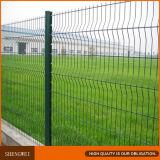 Belle frontière de sécurité de jardin de treillis métallique de bon marché 3 courbes à vendre