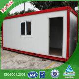 Casa del envase del bajo costo de la alta calidad con el sótano de acero