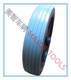 외바퀴 손수레를 위한 편평한 자유로운 바퀴 PU 거품 바퀴 휠체어 바퀴